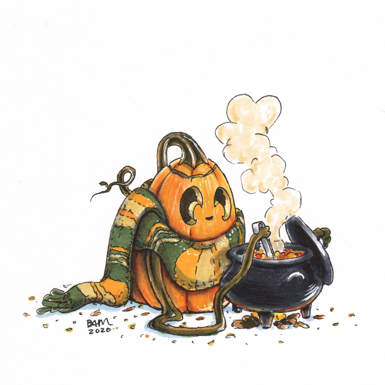 Inktober/Jackolantober/Halloween